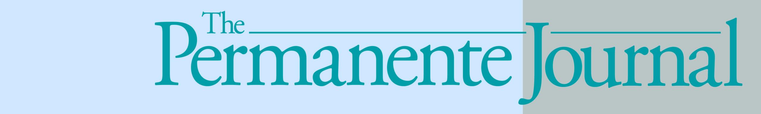 The Permanente Journal logo