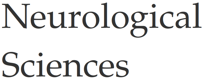 Neurological Sciences logo