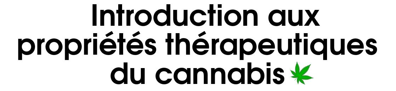 Screenshot Intro propriétés thérapeutiques cannabis, close-up