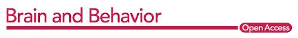 Brain and Behavior logo